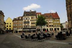 center france mulhouse Arkivbild