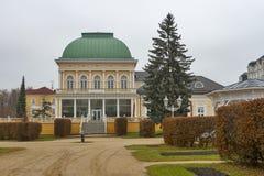 Center of Frantiskovy Lazne, Czech Republic stock photography