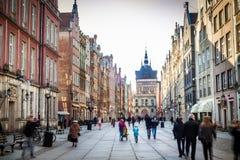 Center of Gdansk Stock Image