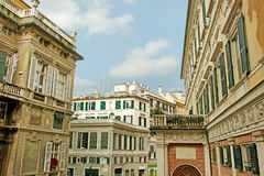 Center of the Genova. Stock Images