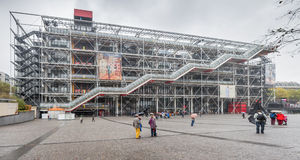 Center George Pompidou Stock Photos