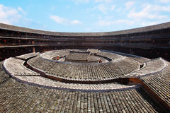 The center of Hakka earth building 6 Stock Images