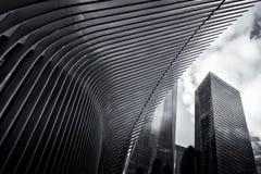 center handelvärld Arkivbild