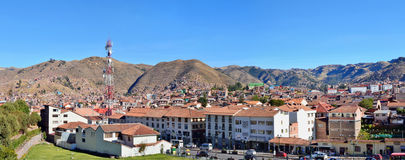 Center of historical Cusco city Stock Images