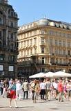 center historiska vienna Royaltyfri Foto