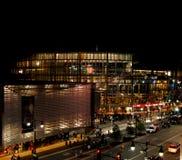 center i stadens centrum kansas sprintar royaltyfri fotografi
