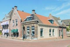 Center of IJlst in Friesland, Netherlands. Stock Photos