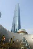 center international för finansguangzhou gzifc Arkivbilder