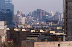 Center of Kiev. View on center of Kiev, capital of Ukraine Royalty Free Stock Photo