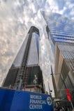center konstruktionshandel under världen Royaltyfria Foton