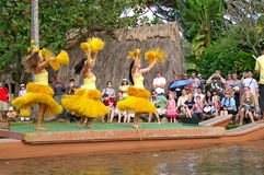 center kulturell polynesian Royaltyfria Foton