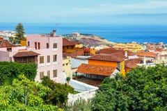 Center of La Orotava town, Tenerife Island, Spain Stock Photo