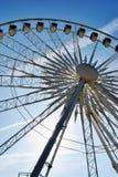 Center of large ferris wheel stock images