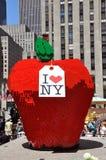 center legonyc rockefeller för äpple Royaltyfri Bild