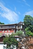 Center of Lijiang, China. Cluster of building in the center of Lijiang old town, China Royalty Free Stock Photo