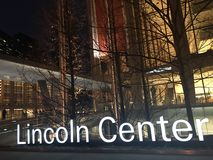 center lincoln Arkivfoton