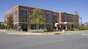 center läkarundersökning för byggnad Arkivbilder
