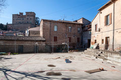 Center of longiano Stock Images