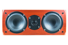 Center loudspeaker Royalty Free Stock Image