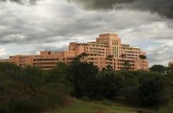 center medicinsk tripler för armé fotografering för bildbyråer