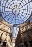 center milan shopping Arkivfoto