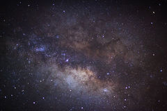 The center of the milky way galaxy, Long exposure photograph Stock Photos
