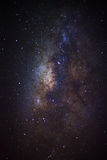 The center of the milky way galaxy, Long exposure photograph,wit Royalty Free Stock Photo