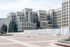 Center of Minsk Stock Photography