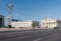 Center of Minsk Royalty Free Stock Images