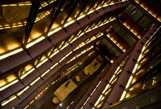 center modern shopping Royaltyfri Bild