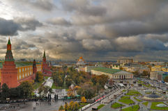 Center of Moscow Royalty Free Stock Image