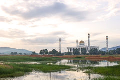 Center Mosque in Songkla Province, Southern Thailand. Stock Images