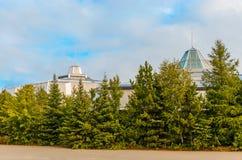 Center nord för vetenskap i Sudbury, Ontario-Kanada Arkivfoton