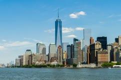center ny handelvärld york Arkivfoton
