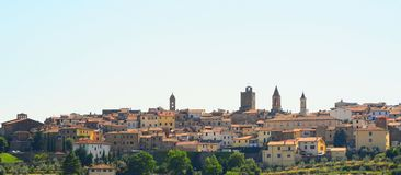 Center Of Arezzo Royalty Free Stock Photos