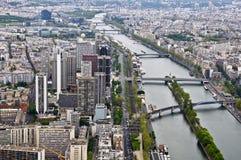 Center Of Paris Stock Photo