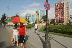 Сenter of the Old Batumi, Georgia Royalty Free Stock Photo