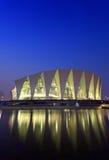center orientaliska shanghai sportar arkivbild