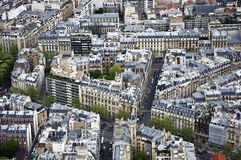 Center of Paris Royalty Free Stock Photo