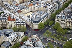 Center of Paris Stock Photography