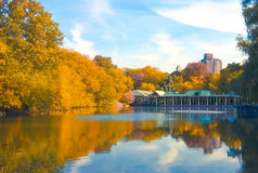 Center Park NY . Beautiful park in beautiful Royalty Free Stock Photography