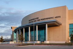 Center For The Performing Arts royalty free stock images