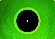 Green lp #1 Stock Photography