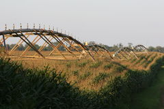Center pivot irrigation Royalty Free Stock Photos