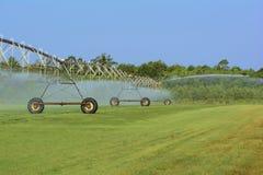 Center Pivot irrigation system Royalty Free Stock Image
