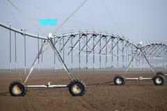 Center pivot sprinkler system Stock Image