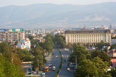 Center of Plovdiv in Bulgaria Royalty Free Stock Photo
