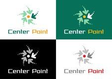Center Point Logo Design Stock Photos