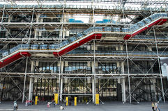 center pompidou Arkivfoto