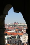 Center of Prague. Castle and Historical Center of Prague, Czech Republic Royalty Free Stock Images